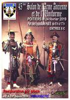 Salon des armes anciennes à Poitiers