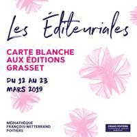 Les Editeuriales Poitiers 2019