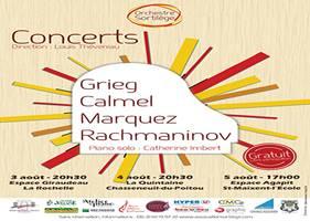 Concert de l'orchestre Sacrilège à La Quintaine Chasseneuil-du-Poitou