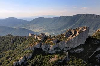 Sur les traces des châteaux Cathares