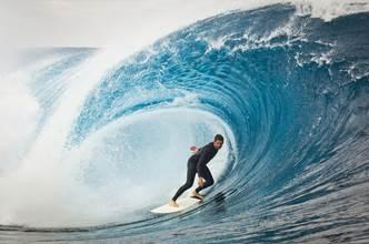 Surfer des vagues comme à Tahiti et en pleine montagne, c'est possible à Courchevel !