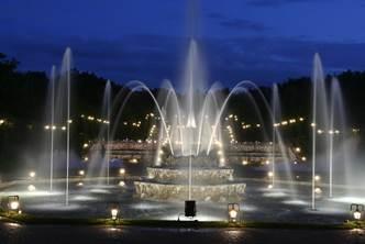 Versailles, les grandes eaux nocturnes