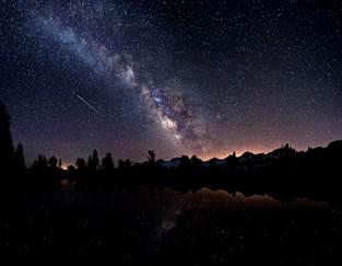 Une pluie d'étoiles filantes pour la fin d'année