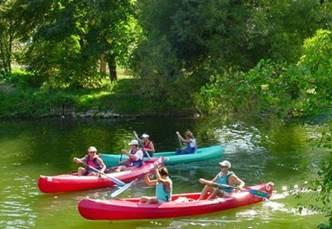 Canoë-kayak sur la Creuse