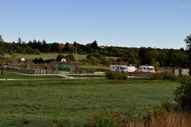 Aire communautaire de camping car de Fons sur Lussan