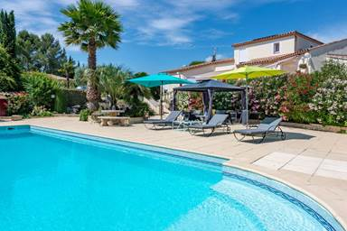 "Gîte ""Casa Dina : Villa Riviera"" – SOMMIERES – location Gard"