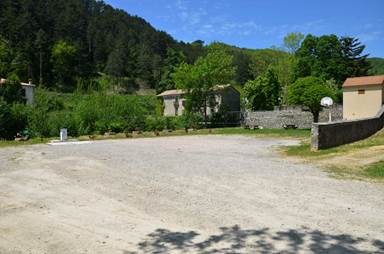 Aire de Camping Car d'Alzon