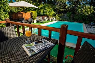 Hôtel restaurant Auberge d'Uzès avec piscine
