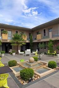Hôtel Patio de Violette Uzès Terrasse 2