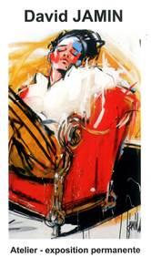 David Jamin peintre à Uzès
