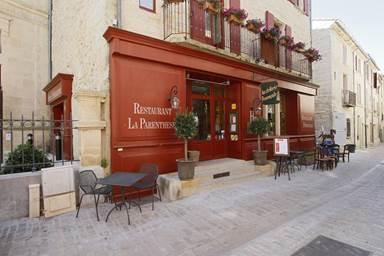 façda de l'Hostellerie Provençale