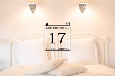 """Gîte """"Les Suites du 17 : suite 4"""" – AIGUES MORTES – location Gard"""