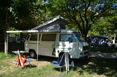 aire camping car luberon