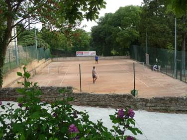 tennis club d'Uzès