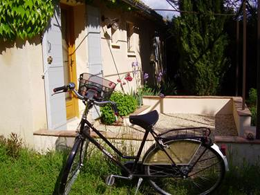 LE MAZET DE MANON vélo
