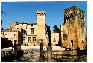 rive droite;gard;chateau de saint privat