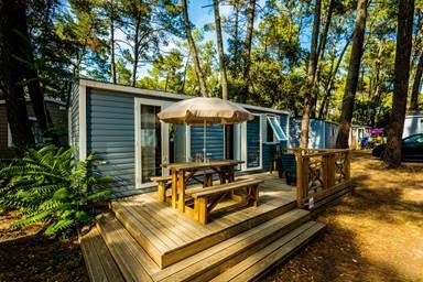 Mobil home - La Sousta camping à proximité du Pont du Gard