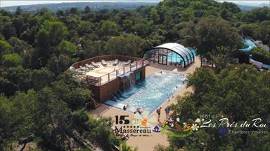 Camping 5 étoiles et Hôtel chambres insolites et le parc aquatique balnéothérapie