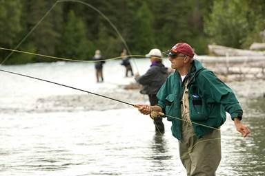 Pêche au Lac de l'Aillade