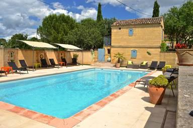 """Chambre d'hôtes """"Le Castellet"""" – LOGRIAN FLORIAN – location Gard"""