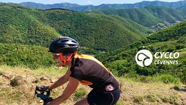 Cyclo Cévennes Montée Col des Vieilles