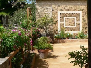 Jardin médiéval à Uzès
