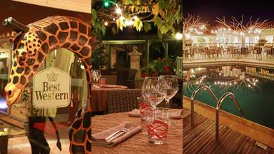 Restaurant du Best western Uzès Pont du Gard