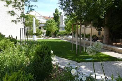 jardin  du puygarreau