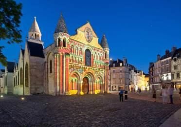 Polychromies Notre-Dame Poitiers