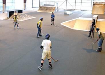 Skatepark Hall de la Cassette Poitiers