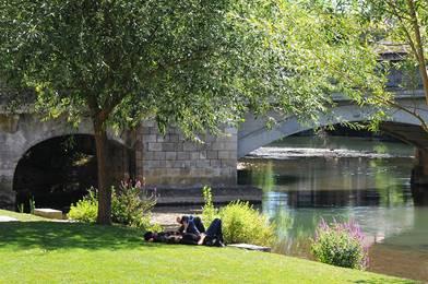 Rivière Clain Poitiers