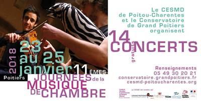Journées de la musique de chambre à Poitiers