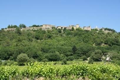 Cornillon, le village