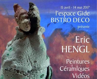 Eric HENGL, peintures, céramiques, vidéos
