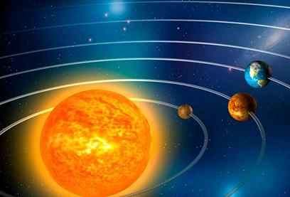 Du système solaire aux galaxies