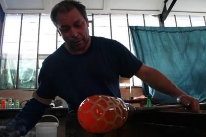 Atelier Funambulle, Souffleur de Verre, Eric Lindgren
