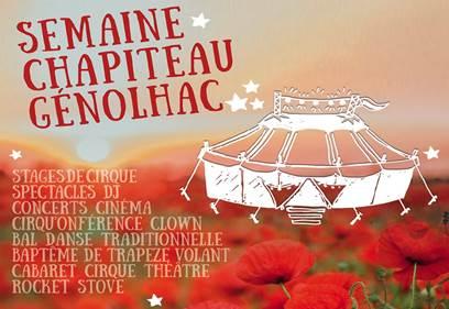 Cirque - Semaine Chapiteau à Génolhac