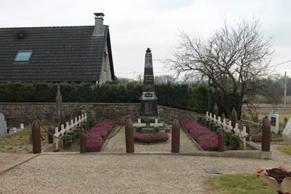 Vrigne Meuse - Carré militaire