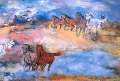 Exposition de peinture de Dany Jullian