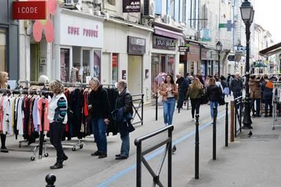 Printemps du commerce au centre-ville d'Alès