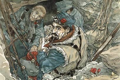 Fragments d'une guerre dessinée - La Grande Guerre vue par le 9e Art