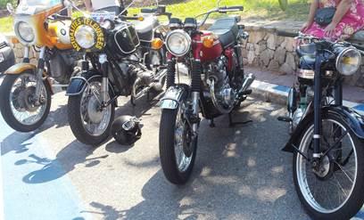 Sortie de motos anciennes