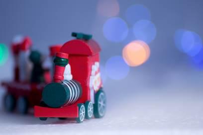 Le petit train de Noël