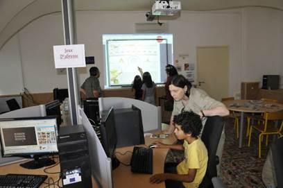 Atelier de jeux intéractifs en ligne