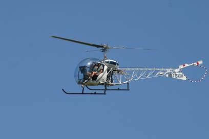 Cévennes hélicoptère