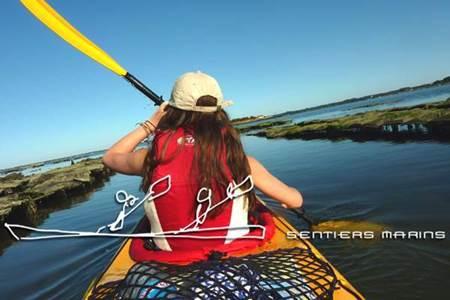 La grande parade de la semaine du Golfe en Kayak de Mer avec Sentiers Marins