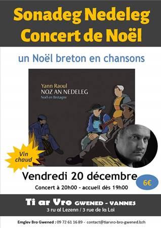 Concert de Noël : Yann Raoul