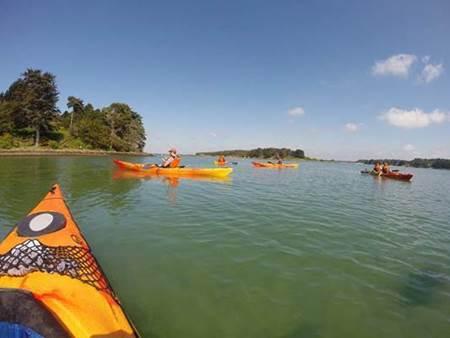 Au revoir les bateaux, fin de la semaine du Golfe en Kayak