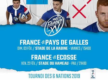 Rugby - Tournoi des 6 nations U20 : France - Pays de Galles