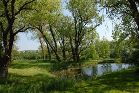 Le Canville plan d'eau